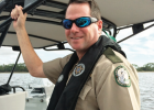 FWC officer David Brady was awarded a medal of valor and a purple heart for saving a life — his own — in a gunfight on the water in Northwest Florida.